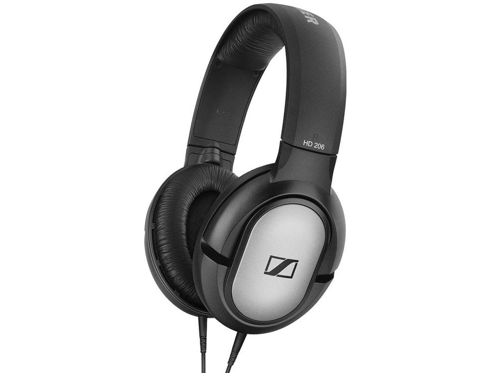 цена на Наушники Sennheiser HD 206 черный Наушники Sennheiser HD 206 черный