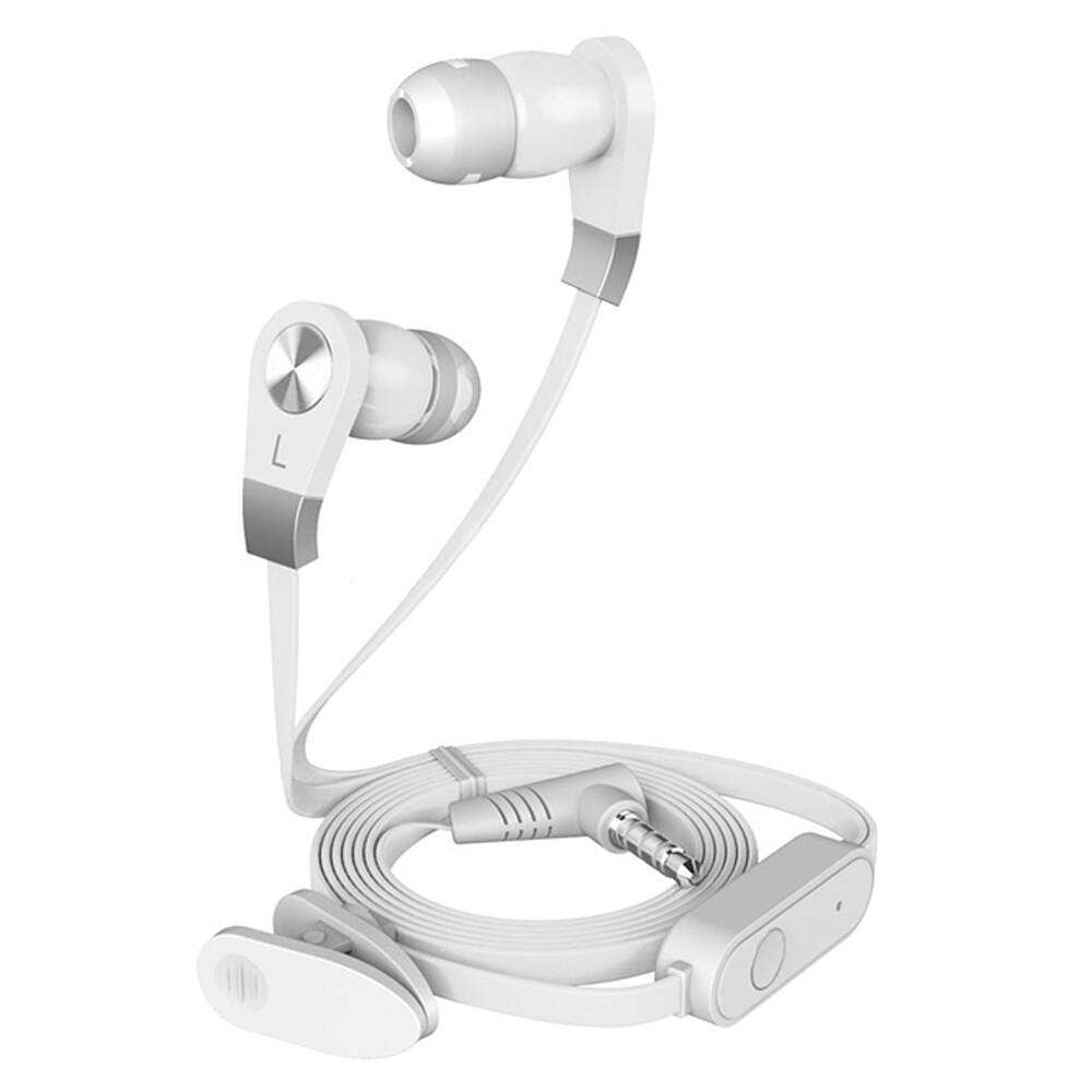 Гарнитура HARPER HV-103 white Проводные / Внутриканальные с микрофоном / Белый / 13 Гц - 20,5 кГц / 110 дБ / Двухстороннее / Mini-jack / 3.5 мм