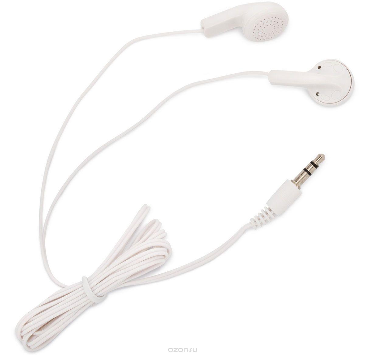 купить Наушники OLTO VS-820 / Проводные / Внутриканальные с микрофоном / Белые / 20 Гц - 20 кГц / Двухстороннее / Mini-jack / 3.5 мм онлайн