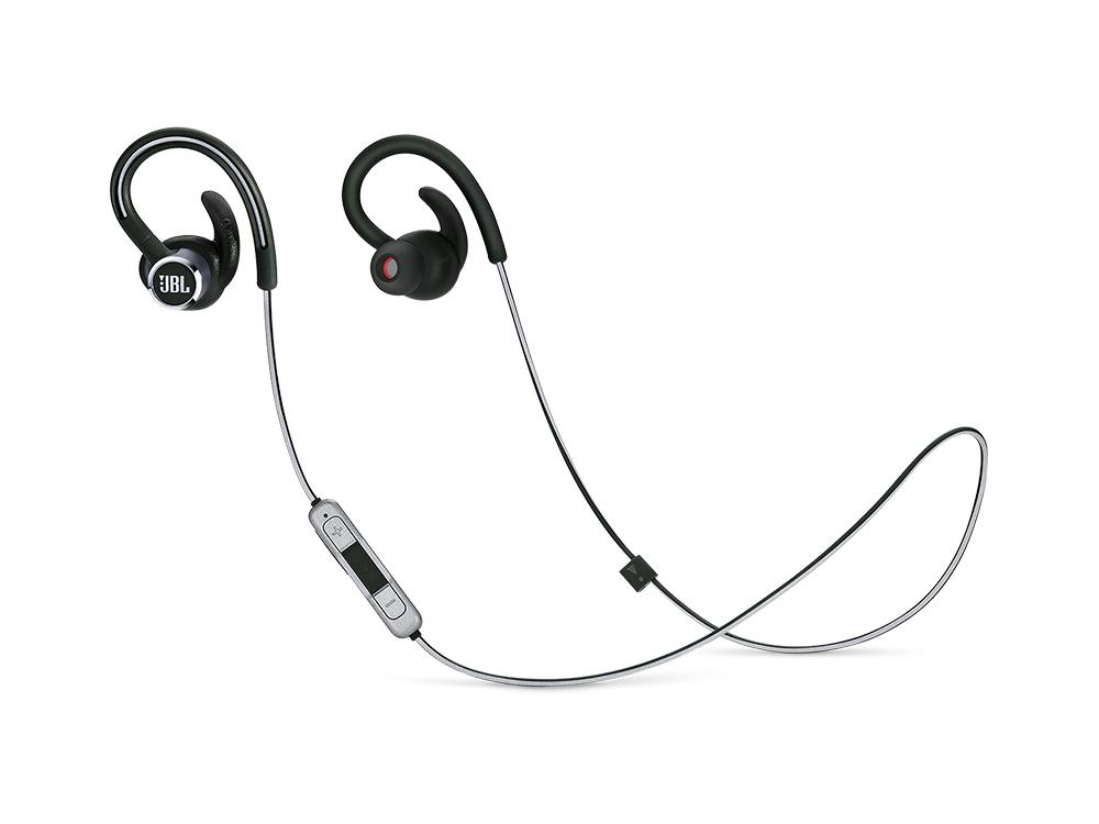 цена на Наушники JBL Reflect Contour 2 Black Беспроводные / Внутриканальные с микрофоном / 10 - 22000 Гц / 100 дБ / BlueTooth / microUSB
