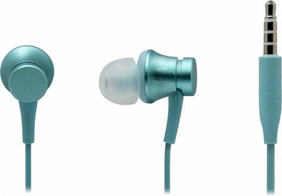 Наушники (гарнитура) Xiaomi Mi In-Ear Headfones Basic Blue Проводные / Внутриканальные с микрофоном / Голубой / 20 Гц - 20 кГц / 93 дБ / Двухстороннее / Mini-jack / 3.5 мм цена