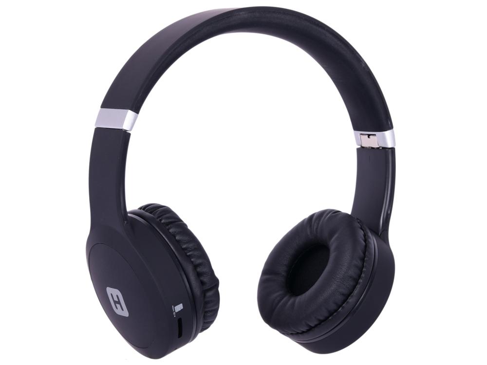 лучшая цена Наушники (гарнитура) HARPER HB-409 Black Беспроводные / Накладные с микрофоном / Черный / 20 - 20000 Гц / 114 дБ / BlueTooth / microUSB / miniJack 3.5 мм