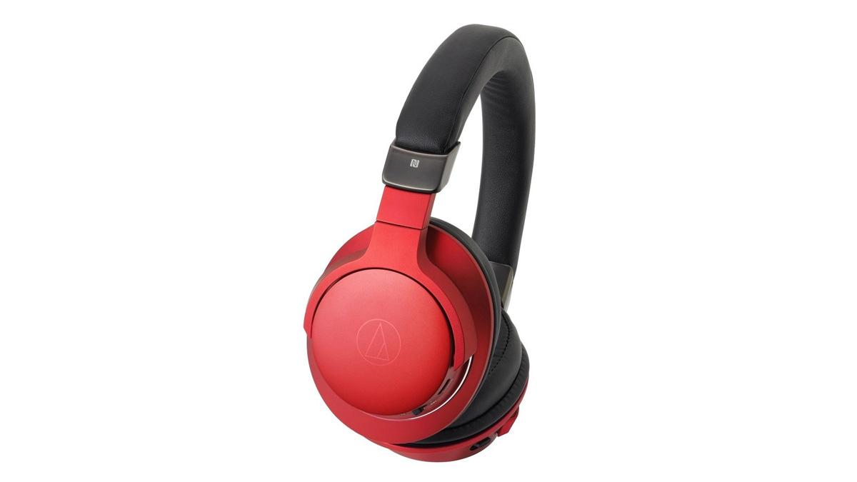 Наушники AUDIO-TECHNICA ATH-AR5BTRD Беспроводные / Накладные / Красный / 5 Гц - 40 кГц / 100 дБ / Mini-jack 3.5 мм / Bluetooth наушники audio technica ath ws550is brd 3 5 мм накладные черный красный [10102360]