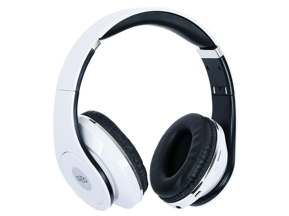 Гарнитура OLTO HBO-155 White Беспроводные / Накладные с микрофоном / 20 - 20000 Гц / Одностороннее / BlueTooth / miniJack 3.5 мм гарнитура