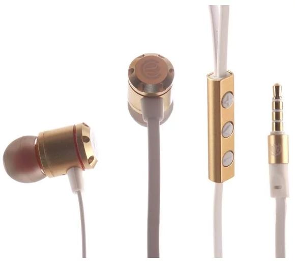 Наушники Continent HCW-7301 Gold Проводные / Внутриканальные / 20 - 20000 Гц / 110 дБ / miniJack 3.5 мм наушники continent hcw 7201 черный lx n20