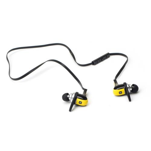 Наушники(гарнитура) HARPER HB-308 yellow Беспроводные / Внутриканальные с микрофоном / желтый / 20 Гц - 20 кГц / 110 дБ / Двухстороннее / Bluetooth