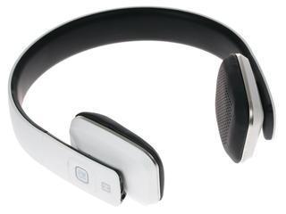 Наушники(гарнитура) HARPER HB-407 white Беспроводные, проводные / Накладные с микрофоном / белый / 20 Гц - 20 кГц / Одностороннее / Bluetooth / miniJack
