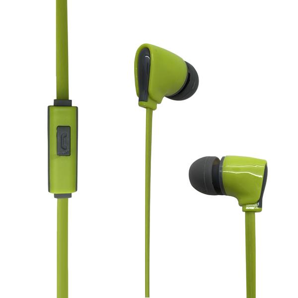 Наушники (Гарнитура) HARPER KIDS H-52 Green Проводные / Внутриканальные с микрофоном / Зеленые / 20 Гц - 20 кГц / Двухстороннее / Mini-jack / 3.5 мм цена и фото
