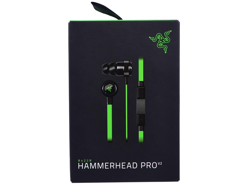 Гарнитура Razer Hammerhead Pro V2 (3,5 мм) цена
