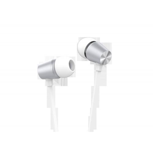 Наушники HARPER HV-505 / Проводные / Внутриканальные / Серебристый / 20 Гц - 20 кГц / 103 дБ / Двухстороннее / Mini-jack / 3.5 мм