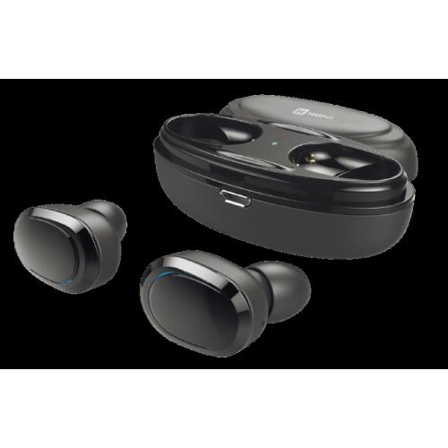 Наушники HARPER HB-509 / Беспроводные / Внутриканальные с микрофоном / Черный / 20 Гц - 20 кГц / Bluetooth, Micro-USB цена и фото
