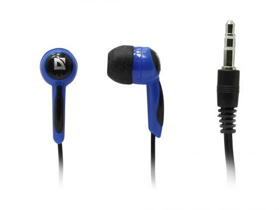 Наушники Defender Basic-604 черно-голубой стоимость
