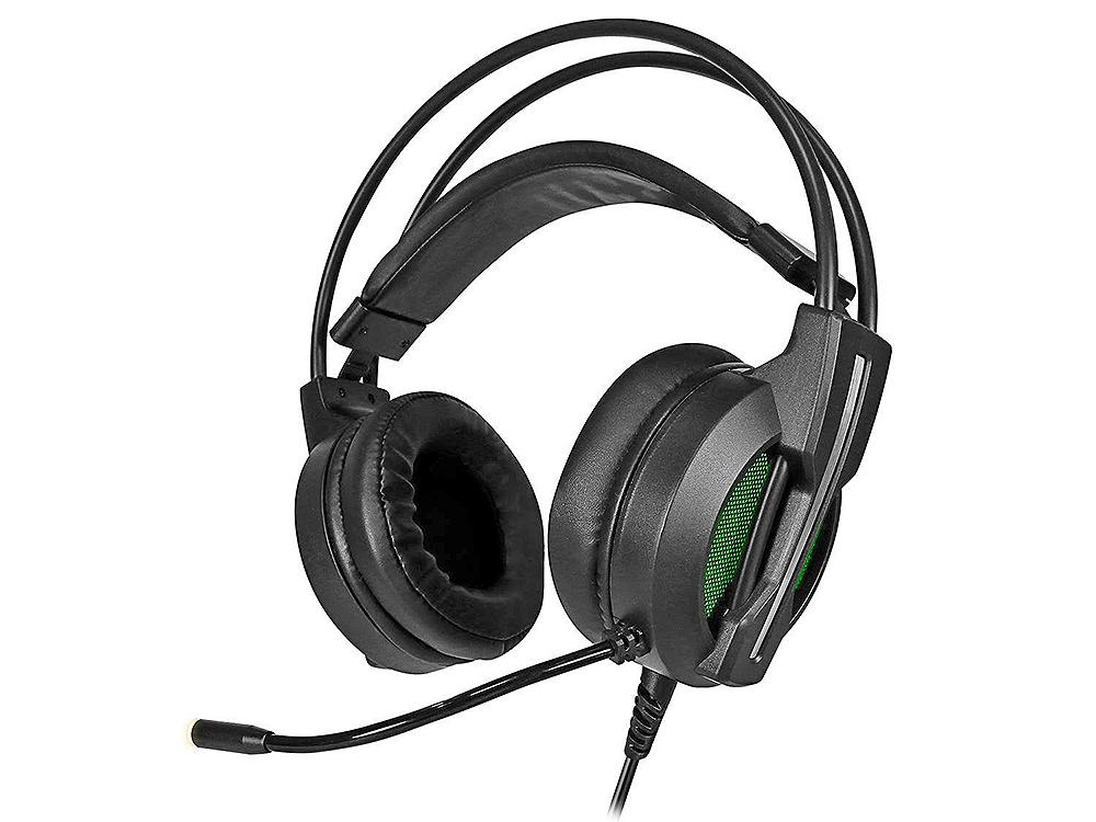 цена на Наушники (гарнитура) Jet.A Panteon GHP-500 PRO Black Проводные / Полноразмерные с микрофоном / Черный / 20 Гц - 20 кГц / 108 дБ / Одностороннее / USB