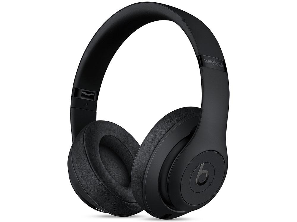 Наушники Apple Beats Studio3 Wireless MQ562EE/A Беспроводные / Накладные / Черный / Одностороннее / Mini-jack 3.5 мм / Bluetooth наушники beats wireless white