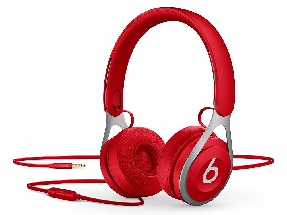 Наушники (гарнитура) Beats EP ML9C2EE/A Red Проводные / Накладные с микрофоном / Красный / Одностороннее / Mini-jack / 3.5 мм наушники beats ep on red
