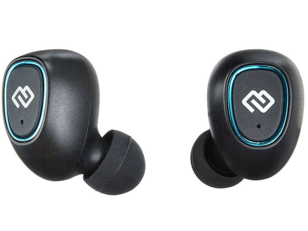 Наушники (гарнитура) Digma TWS-03 Black Беспроводные / Внутриканальные с микрофоном / Черный / 20 Гц - 20 кГц / 102 дБ / до 3 ч / Bluetooth, Micro-USB bluetooth гарнитура tws v4 qm 01 004dv01 black
