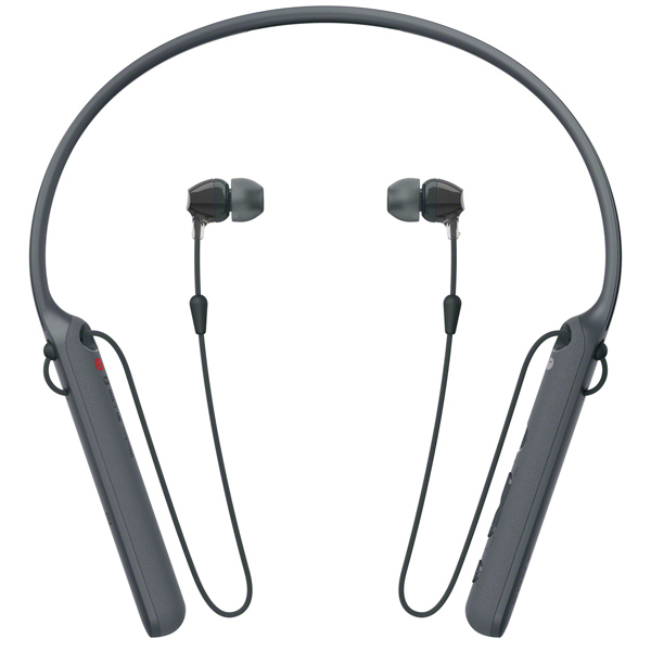 цена на Bluetooth-гарнитура Sony WI-C400 Black