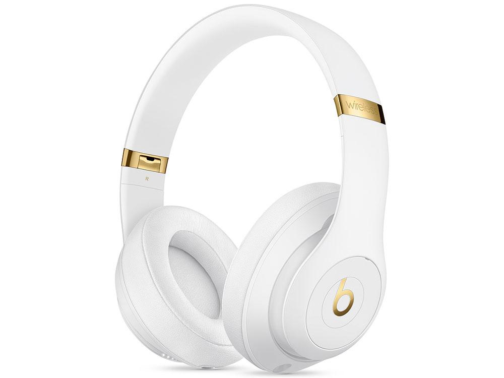 Наушники Apple Beats Studio3 Wireless MQ572EE/A Беспроводные / Накладные / Белый / Одностороннее / Mini-jack / 3.5 мм / Bluetooth наушники beats wireless white
