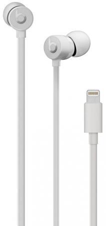 Наушники Apple Beats urBeats3 White MU9A2EE/A Проводные / Внутриканальные с микрофоном / Белый / Двухстороннее / Lightning