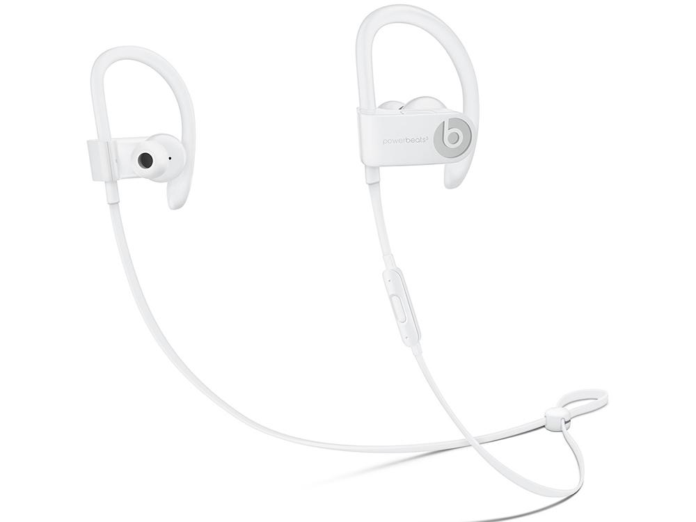 Наушники (гарнитура) Apple Beats Powerbeats 3 WL ML8W2EE/A Беспроводные / Внутриканальные с микрофоном / Белый / до 12 ч / Bluetooth, Micro-USB цена
