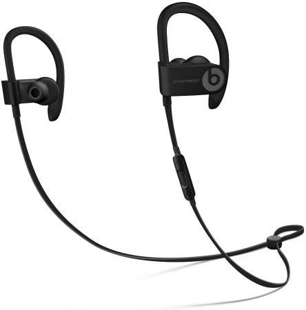 Наушники (гарнитура) Apple Beats Powerbeats 3 WL ML8V2EE/A Беспроводные / Внутриканальные с микрофоном / Черный / до 12 ч / Bluetooth, Micro-USB