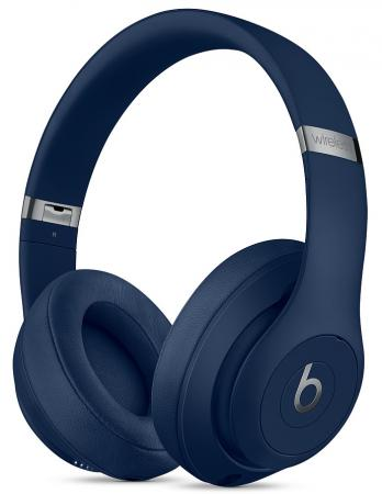 лучшая цена Beats Studio3 Wireless Over-Ear Headphones - Blue