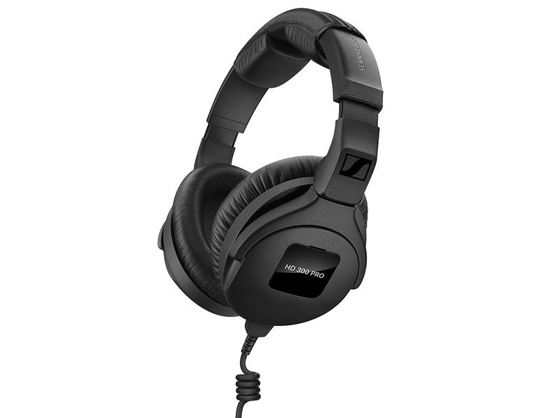 Наушники Sennheiser HD 300 PRO Black Проводные / Полноразмерные без микрофона / 60 - 25000 Гц / 108 дБ / Одностороннее / miniJack 3.5 мм