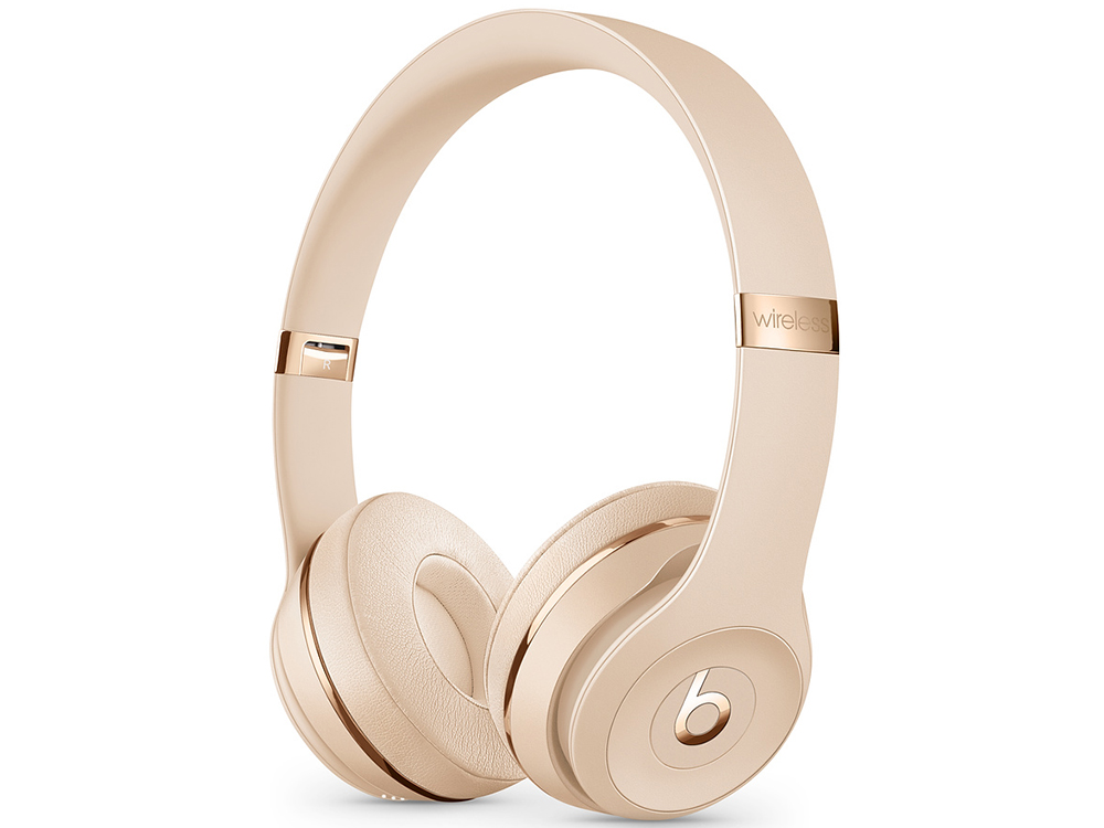 Наушники (гарнитура) Apple Beats Solo3 MUH42EE/A Gold Беспроводные / Накладные / Одностороннее / Mini-jack / 3.5 мм / Bluetooth гарнитура yison n1 gold