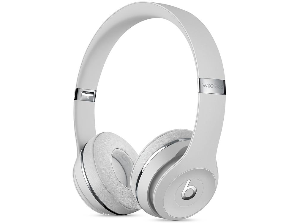 Наушники (гарнитура) Apple Beats Solo3 MUH42EE/A Silver Беспроводные / Накладные / Одностороннее / Mini-jack / 3.5 мм / Bluetooth стоимость