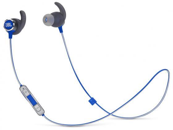 Наушники (гарнитура) JBL Reflect mini 2 Blue Беспроводные / Внутриканальные с микрофоном / Синий / 10 Гц - 22 кГц / до 10 ч / Bluetooth, Micro-USB цена в Москве и Питере