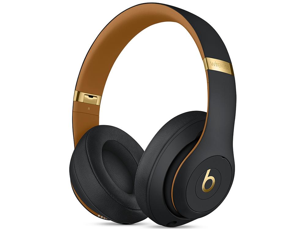 Наушники (гарнитура) Apple Beats Studio3 Wireless Skyline Collection MTQW2EE/A Midnight black Беспроводные / Накладные / Черный / Одностороннее / Mini-jack / 3.5 мм / Bluetooth цена