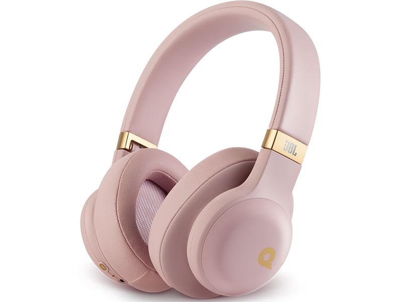 Фото - Bluetooth гарнитура JBL E55BTQ Pink Беспроводные / Полноразмерные с микрофоном / 20 - 20000 Гц / 96 дБ / Одностороннее / BlueTooth / miniJack 3.5 мм bluetooth