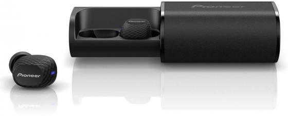 Гарнитура вкладыши Pioneer SE-C8TW-B черный беспроводные bluetooth (в ушной раковине) гарнитура pioneer se cl502t k вкладыши черный проводные