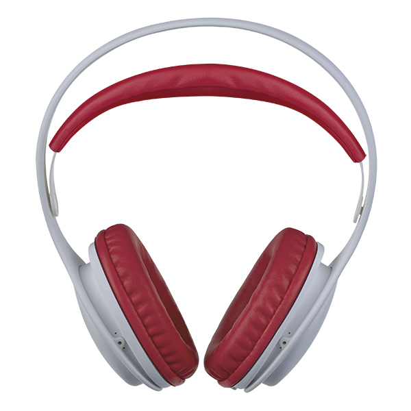 Наушники Perfeo ONTO White/Red Проводные / Полноразмерные без микрофона / 20 - 20 000 Гц / 105 дБ / Одностороннее / miniJack 3.5 мм jvc ha enr15 w white наушники
