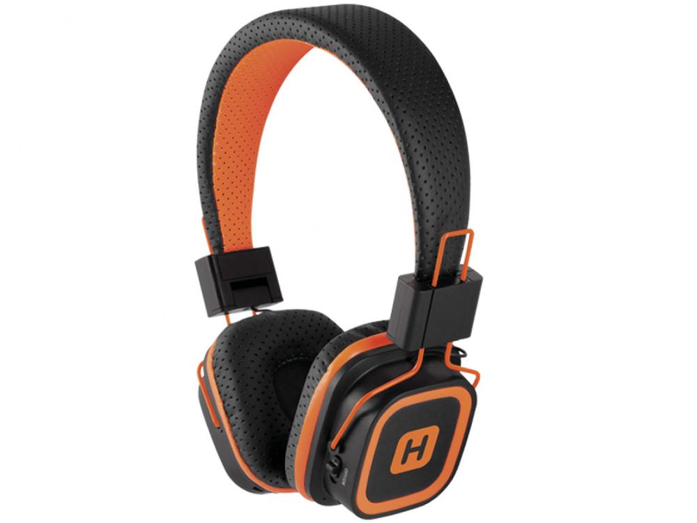 купить Наушники HARPER HB-311 Orange Беспроводные / Полноразмерные с микрофоном / 20 - 20 000 Гц / -105 дБ / Одностороннее / BlueTooth / microUSB / miniJack 3.5 мм по цене 790 рублей
