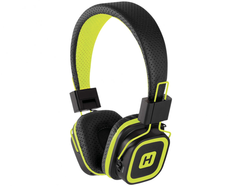 Наушники HARPER HB-311 / Беспроводные / Накладные с микрофоном / Черно-Желтые / 20 Гц - 20 кГц / Bluetooth гарнитура harper hb 407 накладные белый беспроводные bluetooth