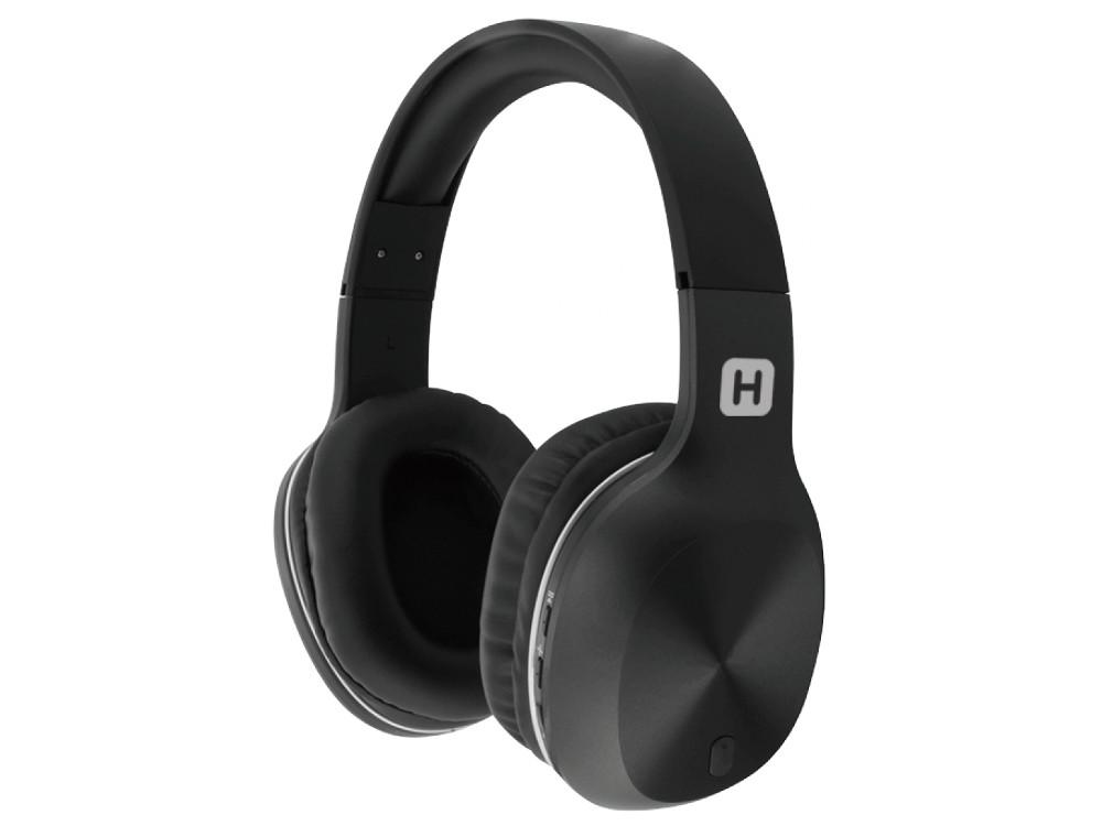 купить Наушники HARPER HB-408 Black Беспроводные / Полноразмерные с микрофоном / 20 - 20 000 Гц / Одностороннее / BlueTooth / microUSB / miniJack 3.5 мм по цене 1499 рублей