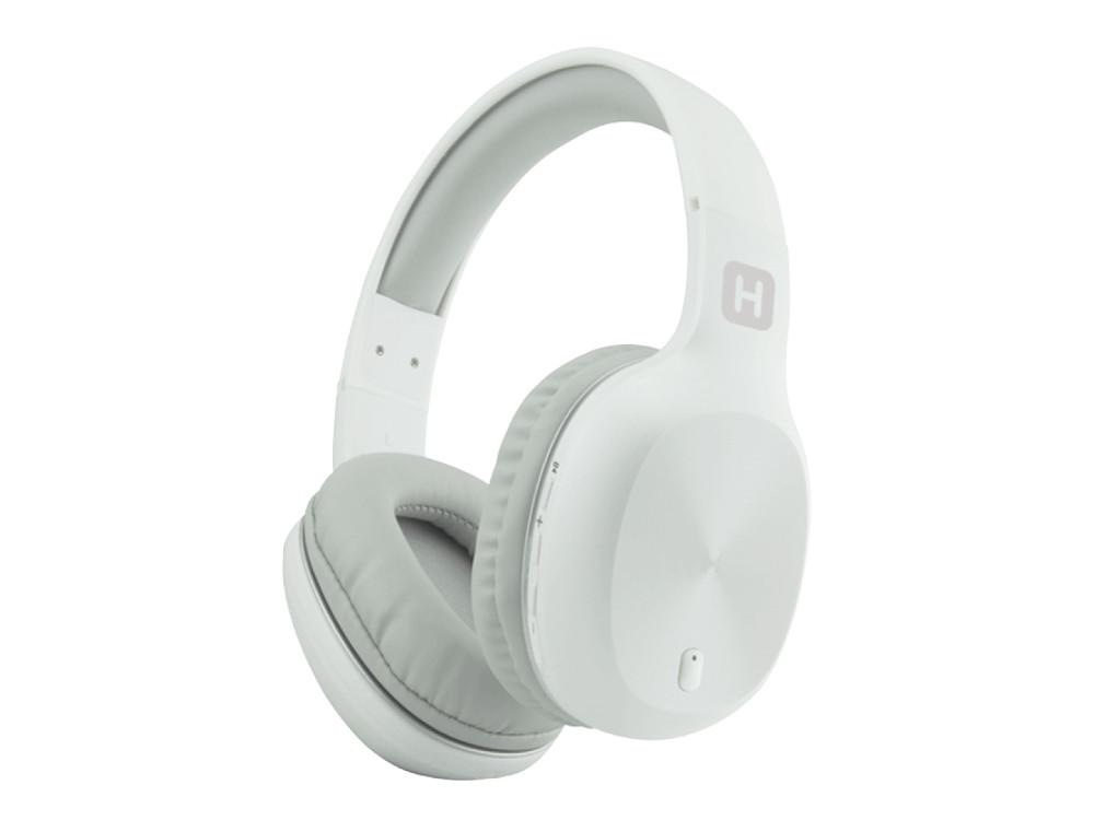 купить Наушники HARPER HB-408 White Беспроводные / Полноразмерные с микрофоном / 20 - 20 000 Гц / Одностороннее / BlueTooth / microUSB / miniJack 3.5 мм по цене 1499 рублей