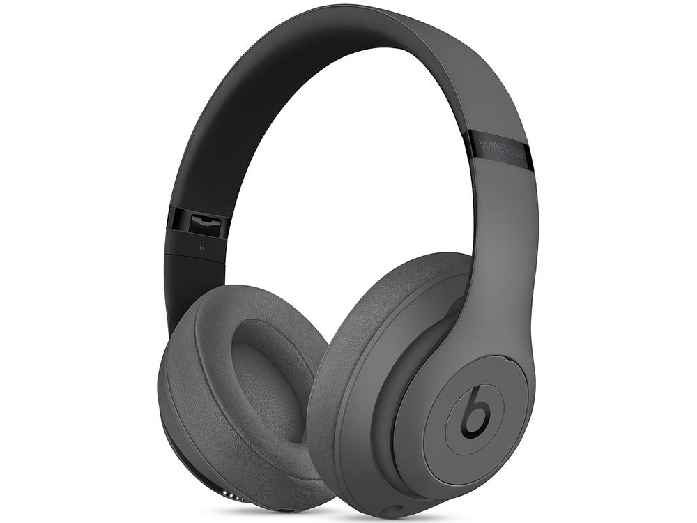 Наушники (гарнитура) Apple Beats Studio3 Wireless MTQY2EE/A Gray Беспроводные / Накладные / Серый / Одностороннее / Mini-jack / 3.5 мм / Bluetooth цена и фото