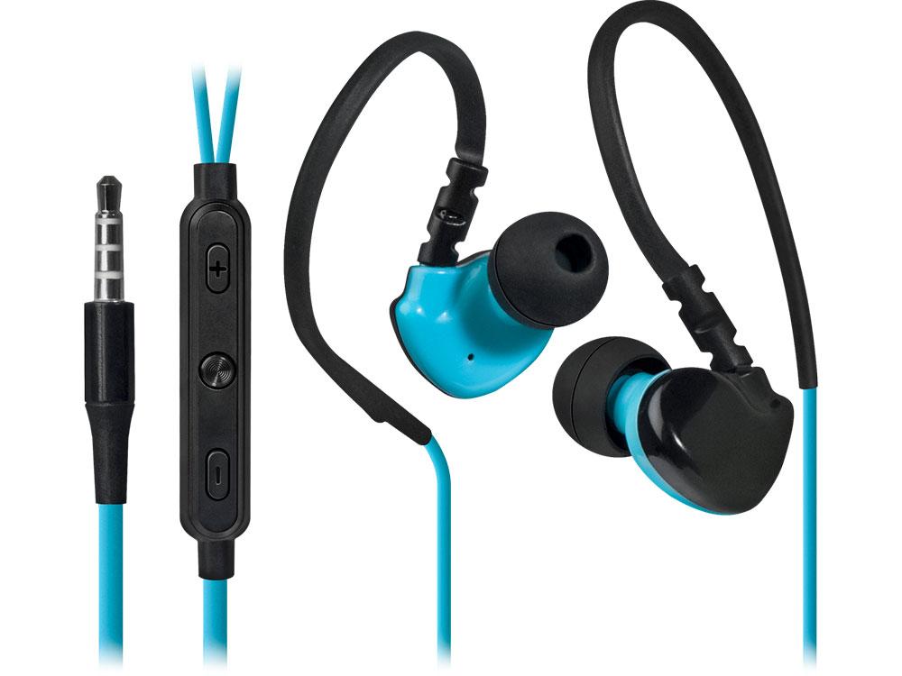 Наушники (гарнитура) Defender OutFit W770 Gray Blue Проводные / Внутриканальные с микрофоном / Серый-голубой / 20 Гц - 20 кГц / 94 дБ / Двухстороннее / Mini-jack / 3.5 мм цена и фото