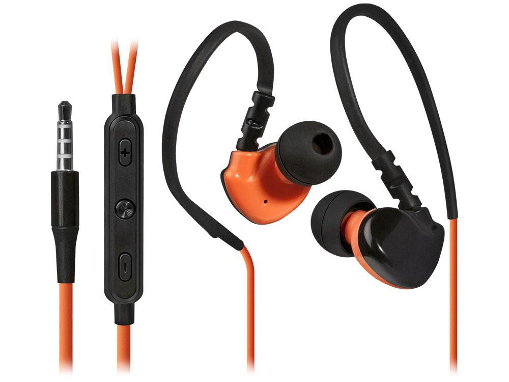Наушники (гарнитура) Defender OutFit W770 Gray Orange Проводные / Внутриканальные с микрофоном / Серый-оранжевый / 20 Гц - 20 кГц / 94 дБ / Двухстороннее / Mini-jack / 3.5 мм гарнитура harper hv 303 orange проводные внутриканальные с микрофоном оранжевый 20 гц 20 кгц двухстороннее mini jack 3 5 мм