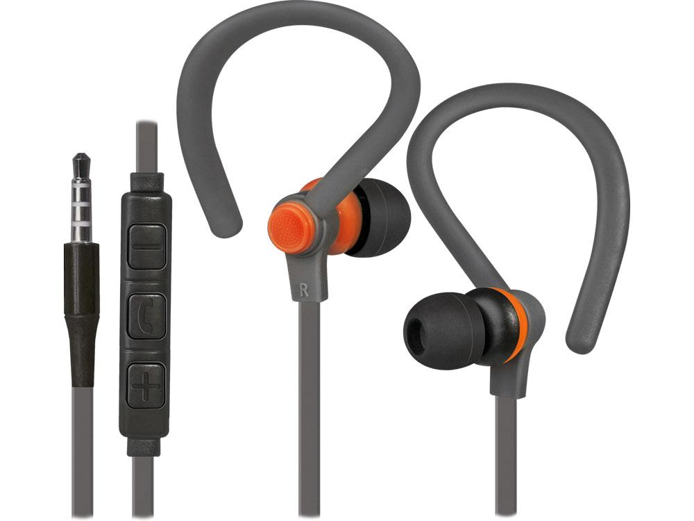 Наушники (гарнитура) Defender OutFit W760 Gray Orange Проводные / Внутриканальные с микрофоном / Серый-оранжевый / 20 Гц - 20 кГц / 94 дБ / Двухстороннее / Mini-jack / 3.5 мм гарнитура harper hv 303 orange проводные внутриканальные с микрофоном оранжевый 20 гц 20 кгц двухстороннее mini jack 3 5 мм