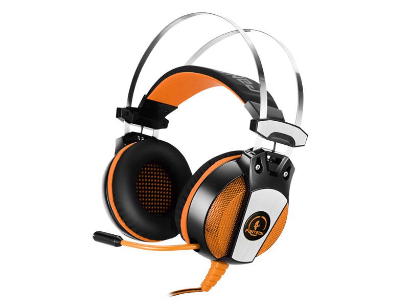 Наушники (гарнитура) Jet.A Panteon GHP-600 pro Black Orange
