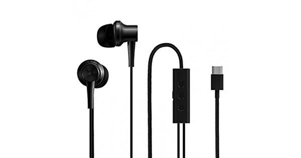 Наушники с микрофоном Xiaomi Mi Dual Driver Earphones (Type-C) (Black) наушники с микрофоном velton vlt 022