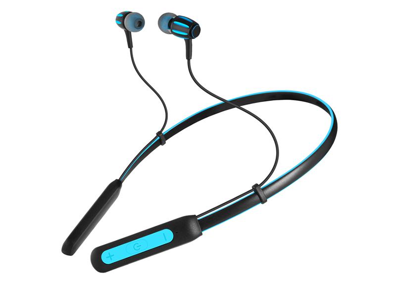 Bluetooth гарнитура Sven E-230B Black/Blue Беспроводные / Внутриканальные с микрофоном / 20 — 20 000 Гц / 103 дБ / BlueTooth гарнитура