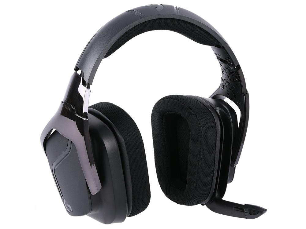 Наушники (гарнитура) Logitech 7.1 Surround Sound LIGHTSYNC Wired Gaming Headset G635 981-000750 Проводные / Полноразмерные с микрофоном / Черный / 20 Гц - 20 кГц / 93 дБ / Одностороннее / Mini-jack 3. 981 000100 гарнитура logitech headset 960 usb