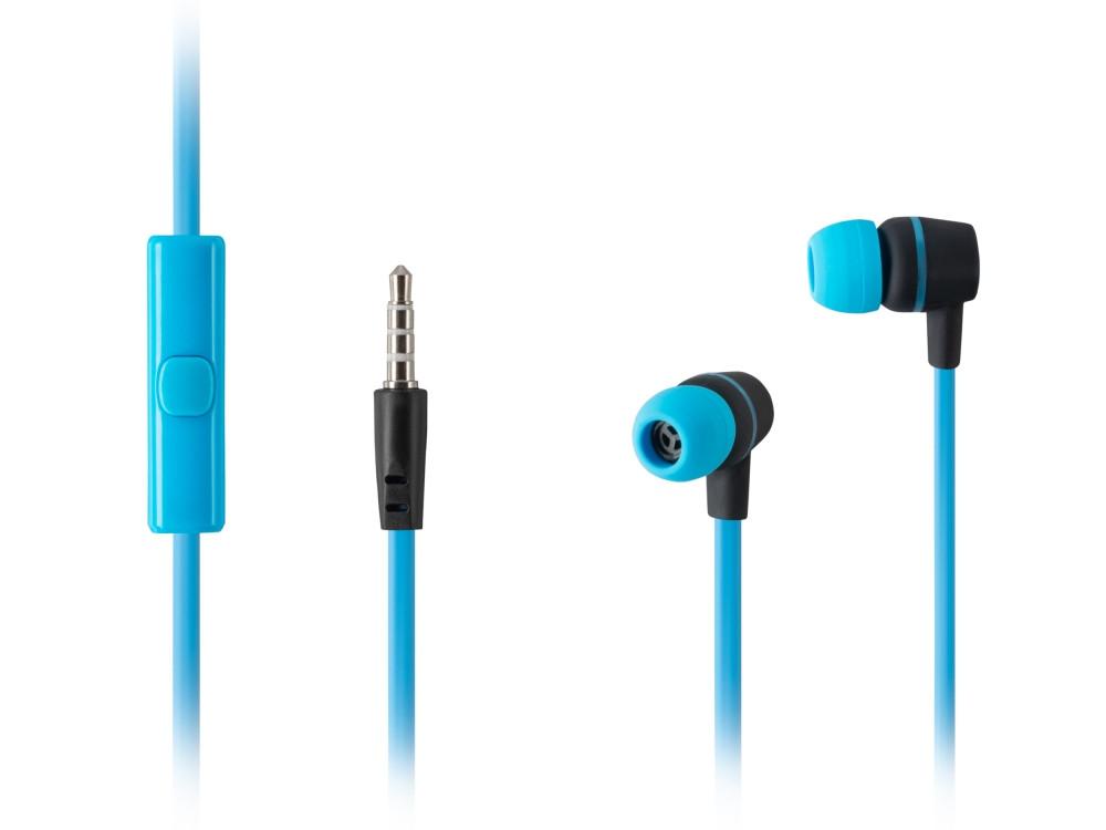 Наушники HARPER HV-107 / Проводные / Внутриканальные с микрофоном / Синие / 20 Гц - 20 кГц / Двухстороннее / Mini-jack / 3.5 мм все цены