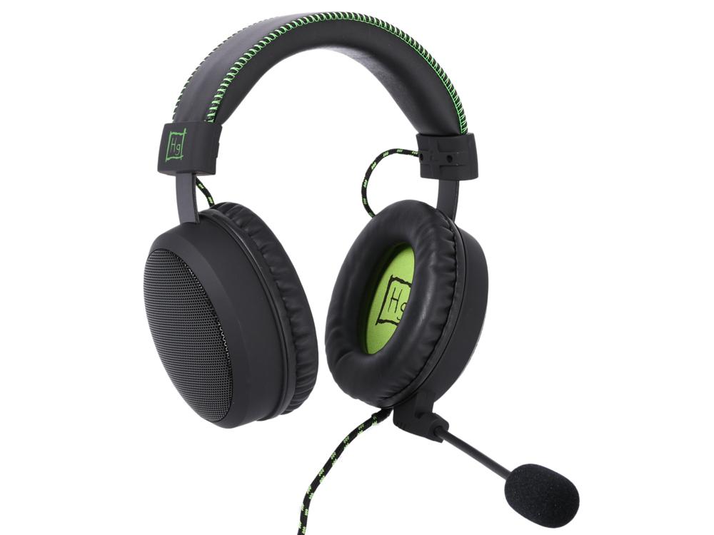 Наушники Игровые Harper Gaming Master GHS-X20 / Проводные / Накладные с микрофоном / Черно-Зеленые / 20Гц-20кГц / Двухстороннее / Mini-jack / 3.5 мм цены онлайн