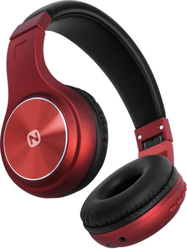 Беспроводные наушники Nobby с MP3 плеером, Comfort B-230, NBC-BH-42-11, BT 4.2, пластик, красный Беспроводные, проводные / Накладные с микрофоном / Кр