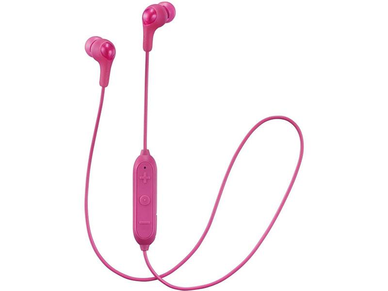 Bluetooth-наушники (гарнитура) JVC HA-FX9BT-P Pink Беспроводные / Внутриканальные с микрофоном / 20 - 20000 Гц / 101 дБ / BlueTooth / USB
